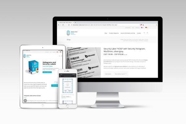 Neuer Onlineshop von advast suisse