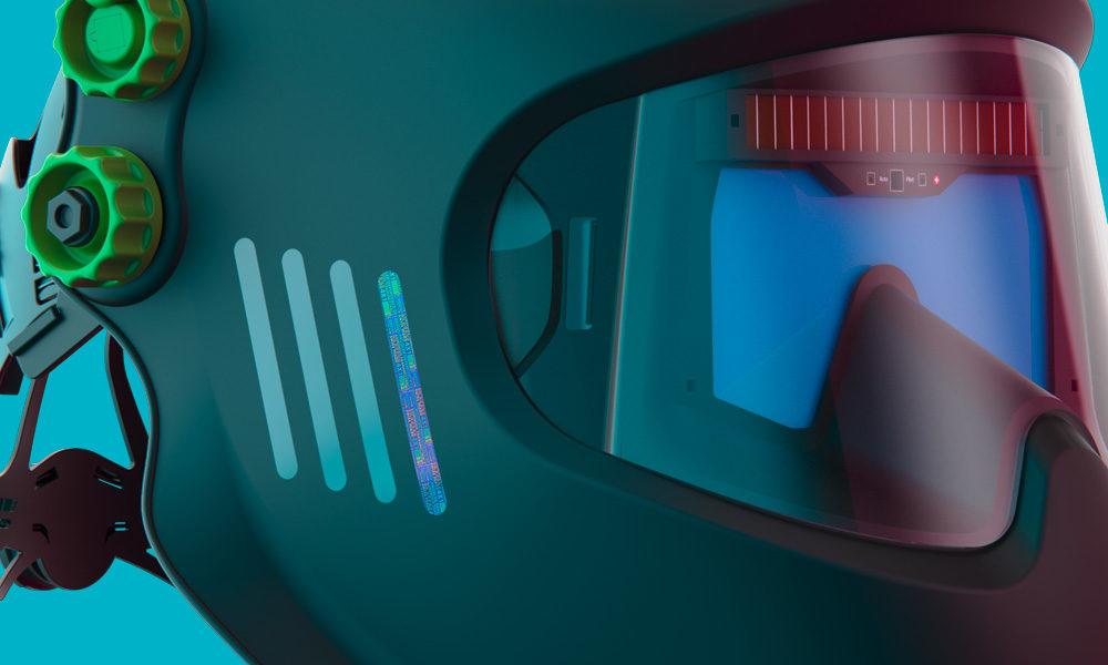 OVD for Optrel welding helmets