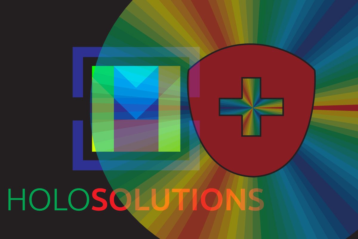90° Channel Hologram (2 Channel Images)